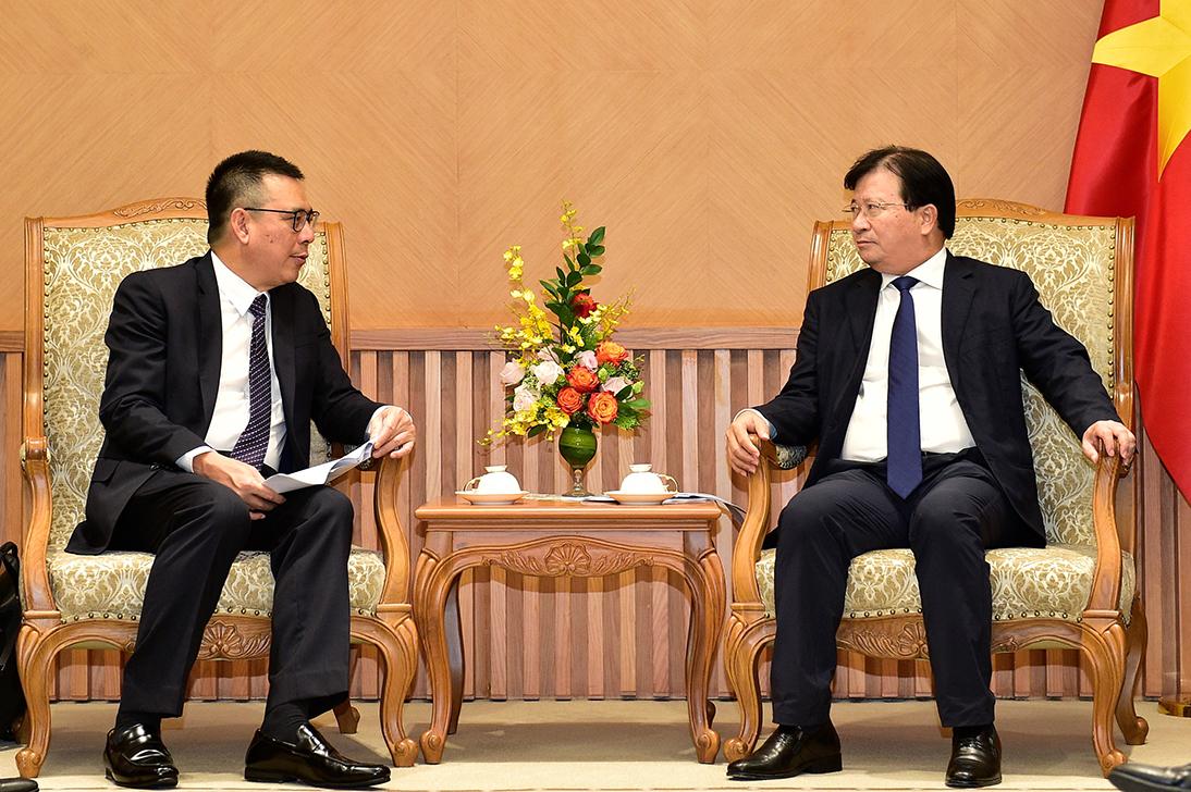 Phó Thủ tướng thúc tiến độ dự án lọc dầu của đại giá Thái Lan tại Việt Nam
