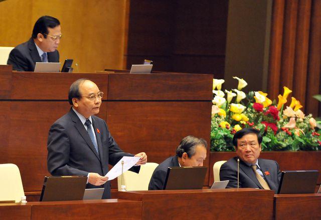 Thủ tướng có trọn một buổi chiều trả lời chất vấn trước Quốc hội - 1