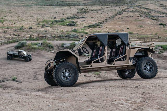Tomcar TX4 UTV - Mẫu xe quân sự duy nhất bán cho dân thường - 4