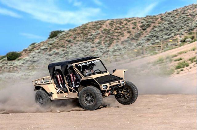 Tomcar TX4 UTV - Mẫu xe quân sự duy nhất bán cho dân thường - 6