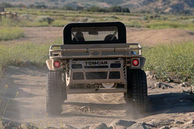 Tomcar TX4 UTV - Mẫu xe quân sự duy nhất bán cho dân thường - 7