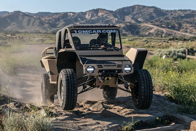 Tomcar TX4 UTV - Mẫu xe quân sự duy nhất bán cho dân thường - 9