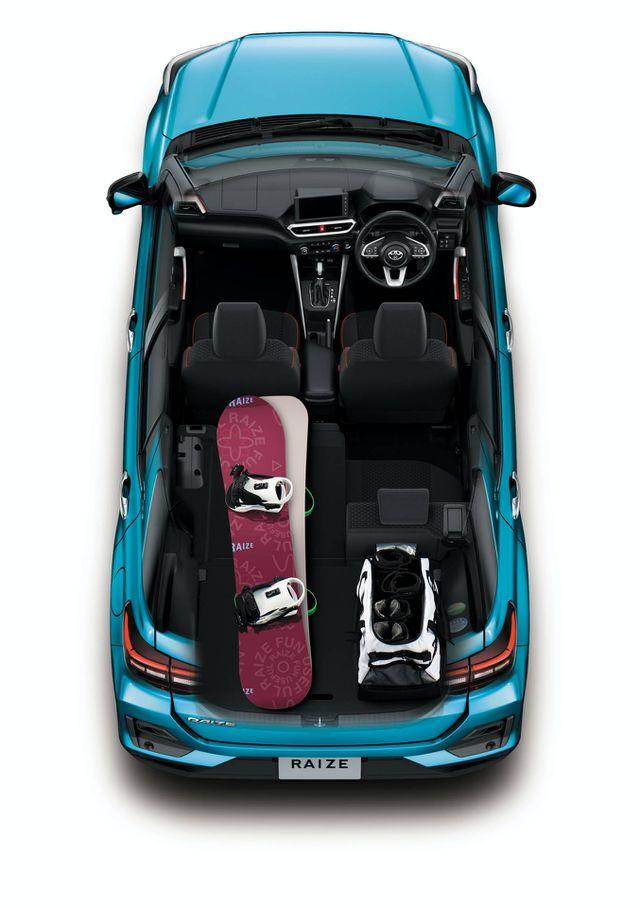 Toyota Raize chính thức gia nhập phân khúc SUV cỡ nhỏ - 14