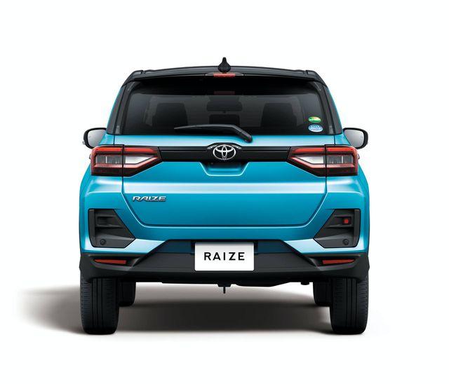 Toyota Raize chính thức gia nhập phân khúc SUV cỡ nhỏ - 16