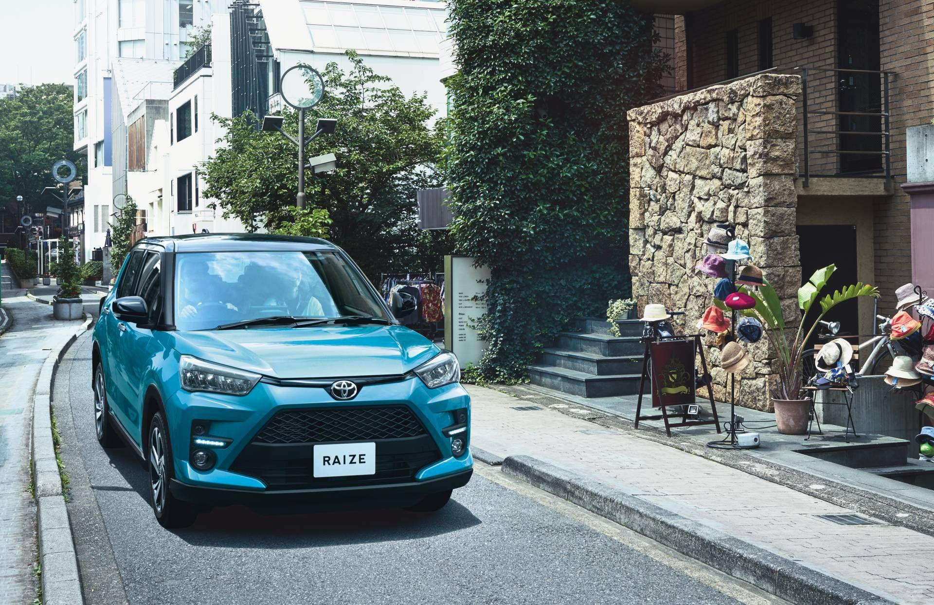 Toyota Raize chính thức gia nhập phân khúc SUV cỡ nhỏ