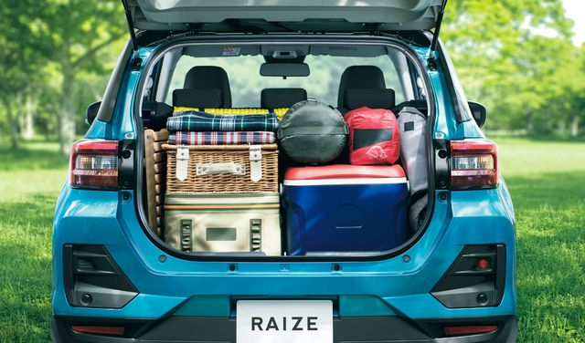 Toyota Raize chính thức gia nhập phân khúc SUV cỡ nhỏ - 8