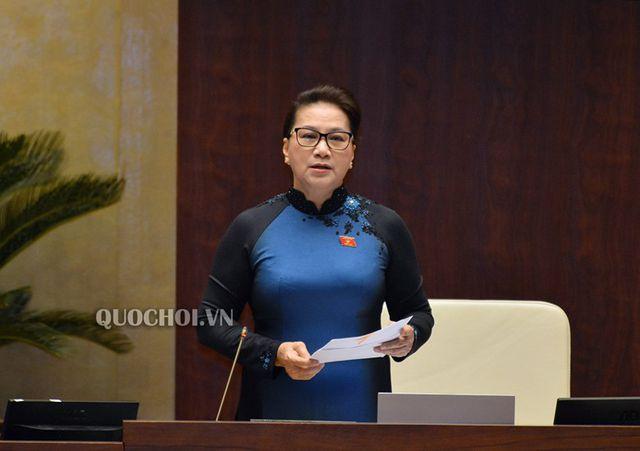 Chủ tịch Quốc hội: Xử lý nghiêm trách nhiệm vụ nhập khẩu hàng hóa vi phạm chủ quyền quốc gia! - 1