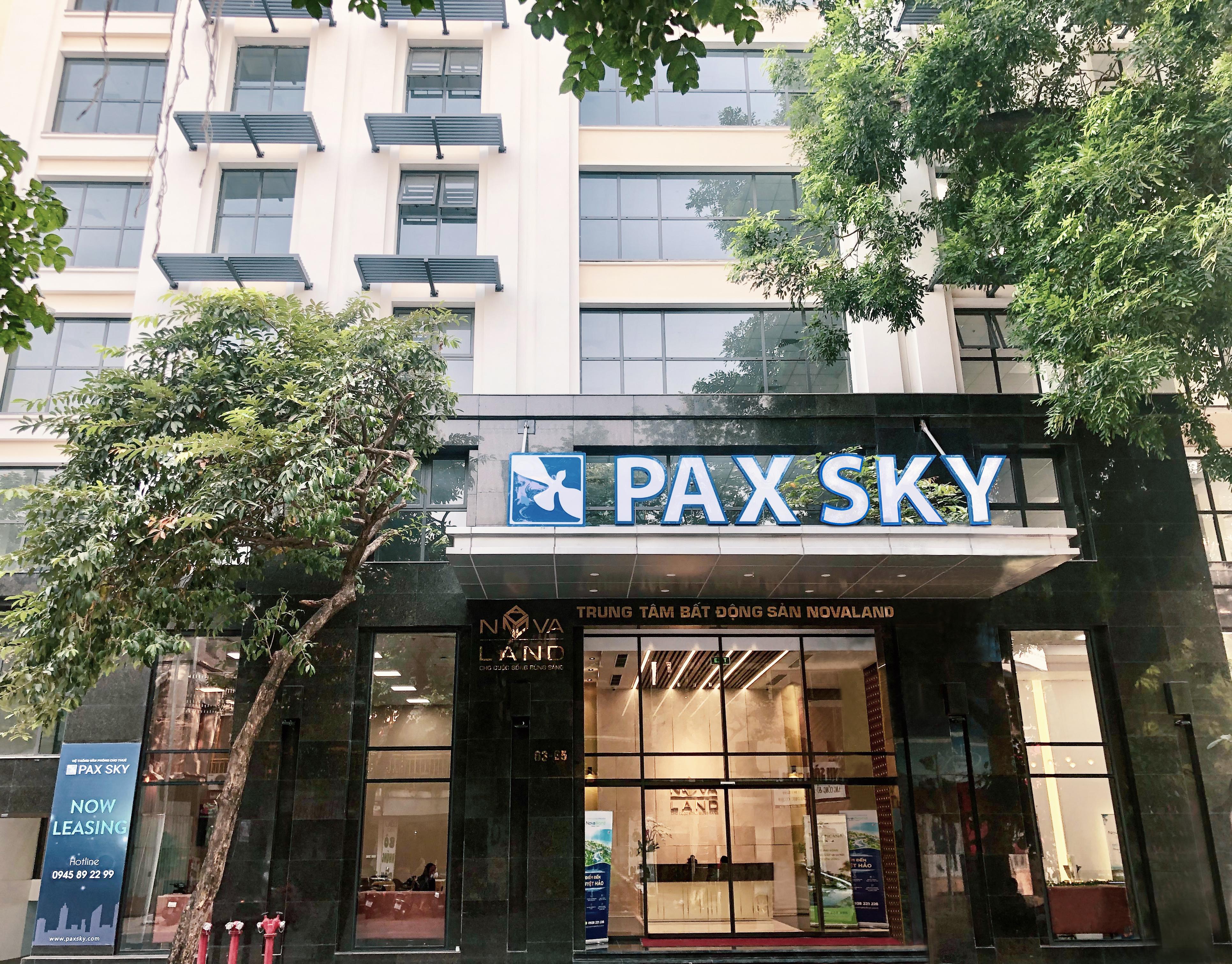Ra mắt hệ thống văn phòng cho thuê Pax Sky tại Hà Nội