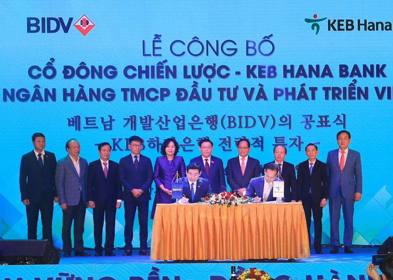 BIDV công bố cổ đông chiến lược, trở thành ngân hàng có vốn điều lệ lớn nhất Việt Nam