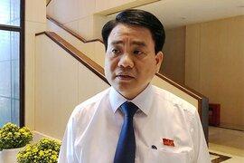 """Chủ tịch Hà Nội: """"Không bao giờ Thành phố bù giá cho Nhà máy nước sông Đuống"""""""