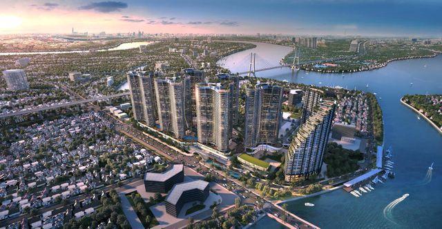 Cung đường ven sông đắt giá ở Sài Gòn được đánh thức bởi hàng loạt siêu dự án - 2