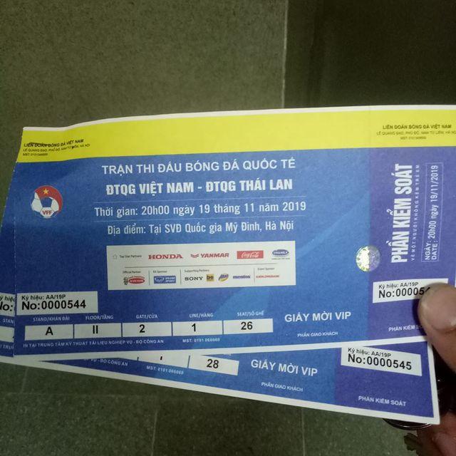 Trận Việt Nam - Thái Lan: Giá vé chỗ ngồi gần khu VIP nhất là bao nhiêu? - 4