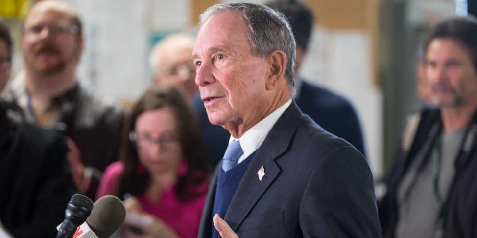 Tỷ phú Michael Bloomberg tranh cử tổng thống Mỹ - lợi thế lớn nhất là tiền