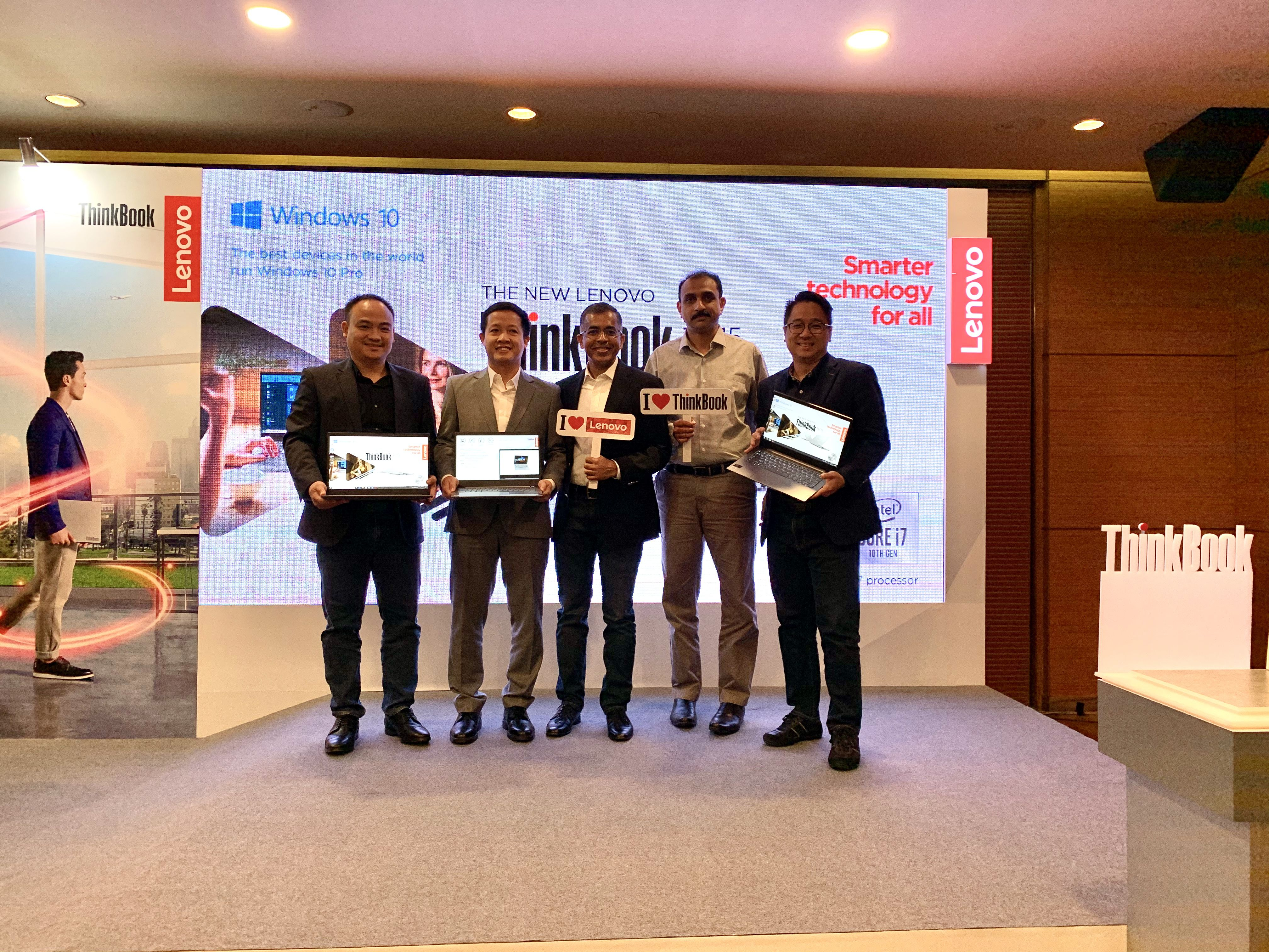 Lenovo ra mắt ThinkBook 14/15: Kiểu dáng mới, bảo mật tốt, giá từ 12 triệu đồng