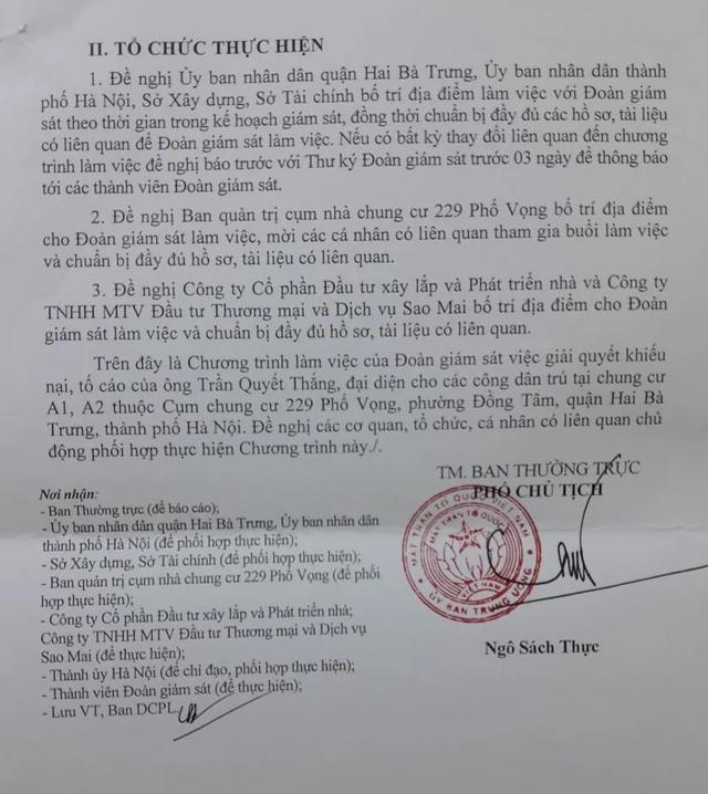 """""""Nóng bỏng"""" vụ cư dân chung cư 229 phố Vọng giữa thủ đô ròng rã kêu cứu! - 3"""