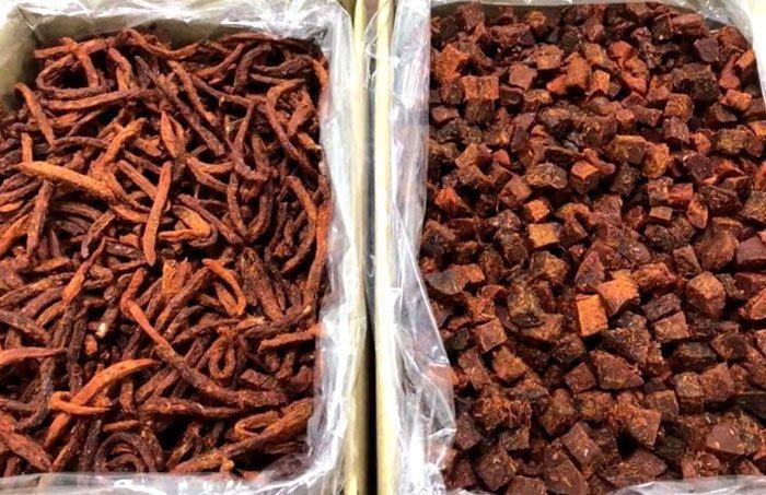 Thịt bò khô 100 ngàn đồng/kg, rùng mình câu trả lời của người bán