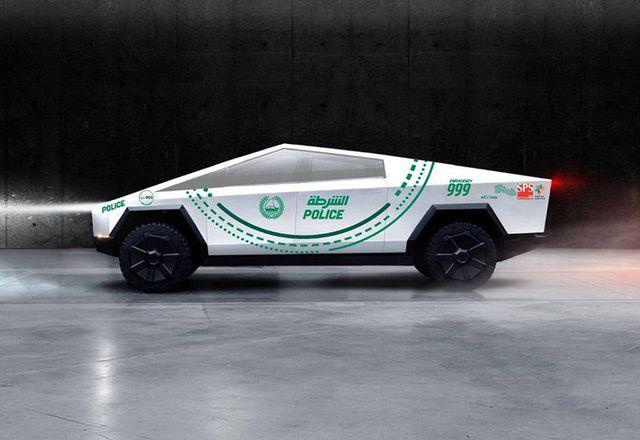 Cảnh sát Dubai chọn Tesla Cybertruck, trong khi người Anh tín nhiệm Ranger Raptor - 1