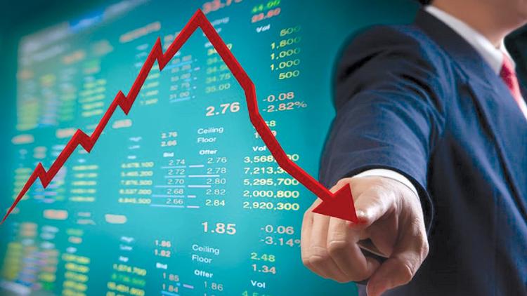 Nhà đầu tư tăng bán cổ phiếu cuối tuần, chứng khoán gặp rủi ro