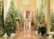 Những hình ảnh Giáng sinh lộng lẫy tại Nhà Trắng do đích thân phu nhân Melania Trump thiết kế