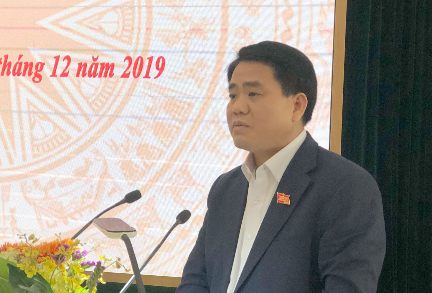 Chủ tịch Hà Nội: Khuếch trương làm sạch sông Tô Lịch