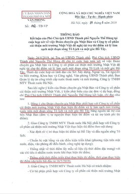 Tổ chức Nhật Bản: Phát biểu của ông Nguyễn Đức Chung chưa chính xác!