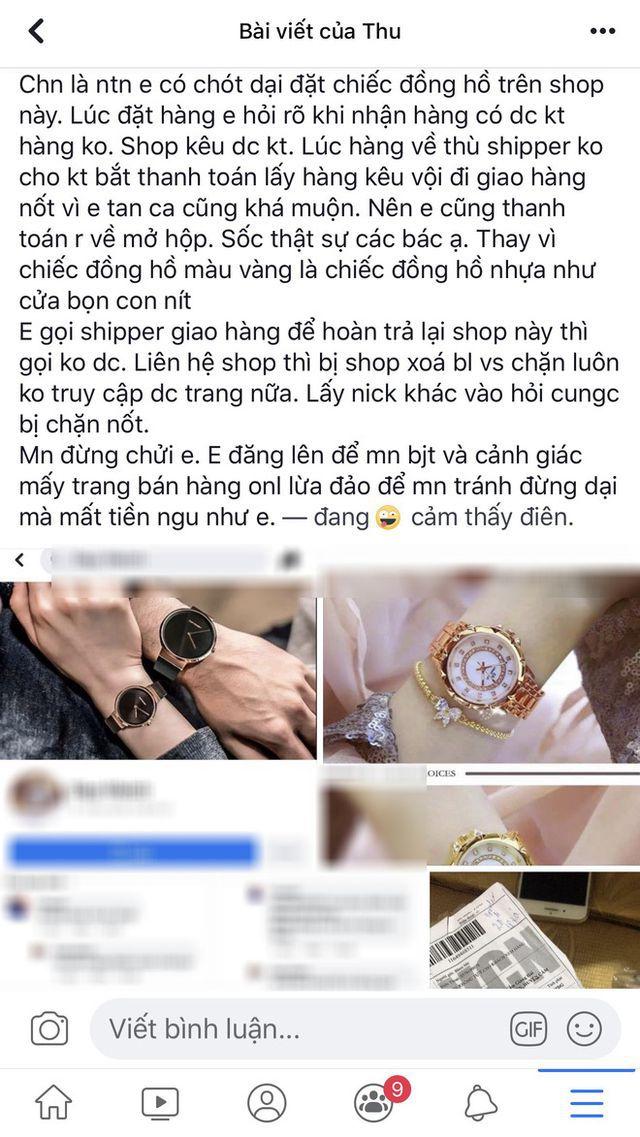 Cô gái khóc thét vì mua đồng hồ sang chảnh, nhận về đồng hồ... nhựa (!?) - 1