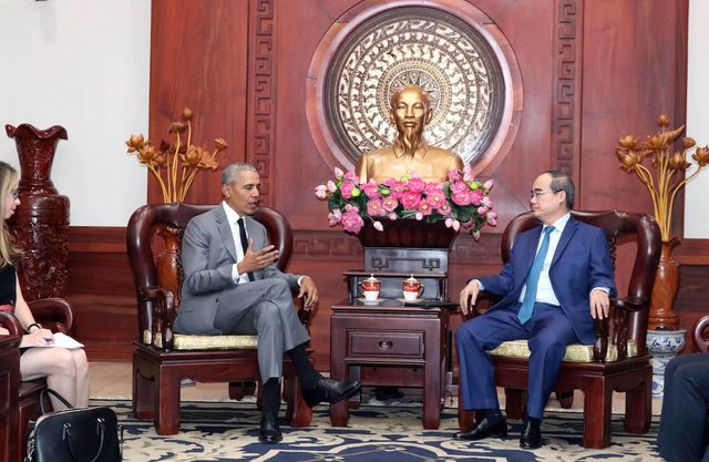 Cựu Tổng thống Obama sẵn sàng làm cầu nối giới thiệu doanh nghiệp Mỹ đầu tư tại Việt Nam - 2