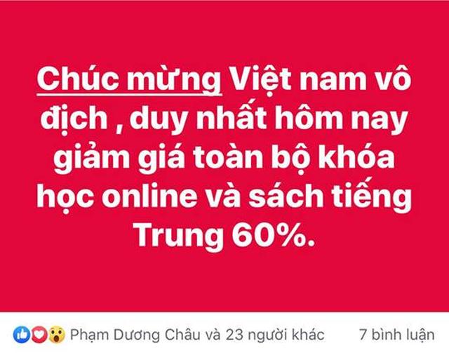 Đến đôi tất, củ khoai cũng ăn theo phong trào giảm giá mừng bóng đá Việt Nam - 3