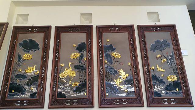 """Bị """"hét"""" gần 20 triệu đồng cặp tranh gốm cá chép vàng, về tận """"cửa lò"""" mua nửa giá - 4"""
