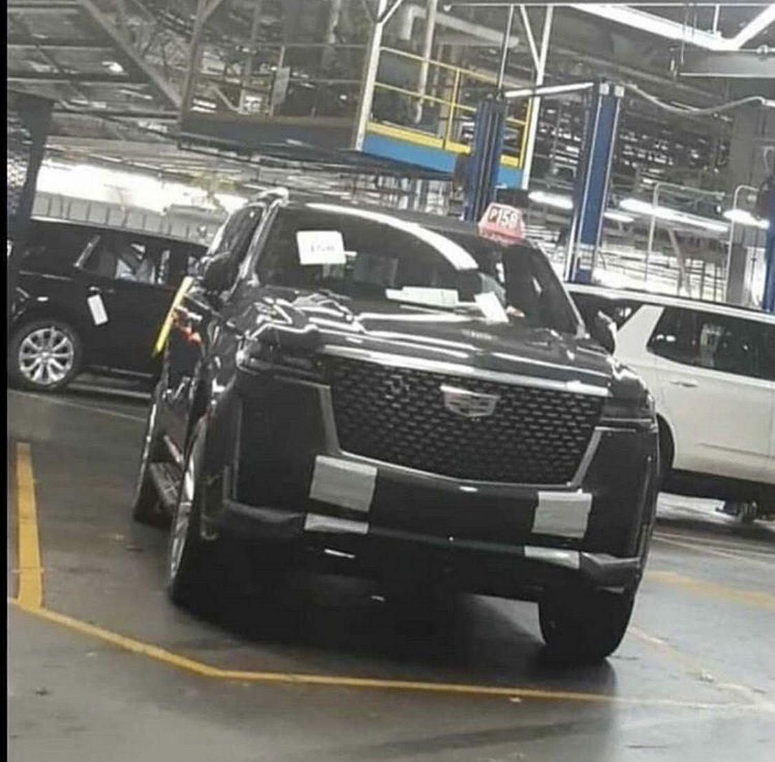 Hé lộ hình ảnh Cadillac Escalade thế hệ mới