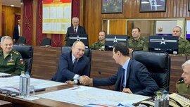 Tổng thống Putin bất ngờ tới Syria giữa lúc