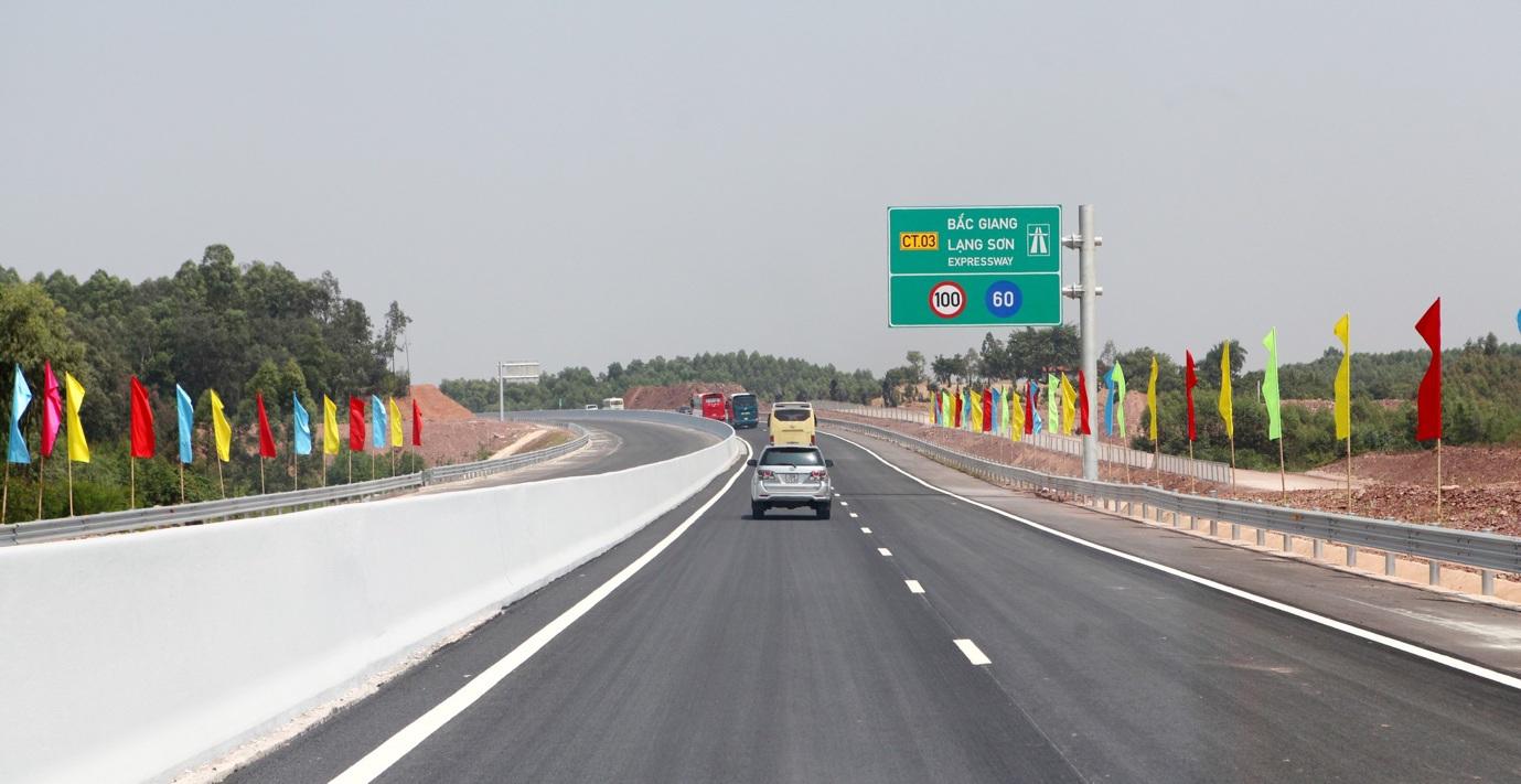 Miễn phí lưu thông cao tốc Bắc Giang - Lạng Sơn từ ngày 15/1