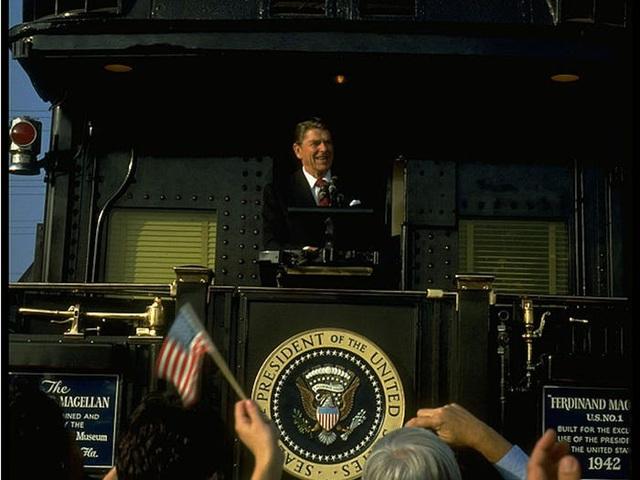 Đoàn tàu bọc thép từng góp phần giúp các tổng thống Mỹ tái đắc cử - 7
