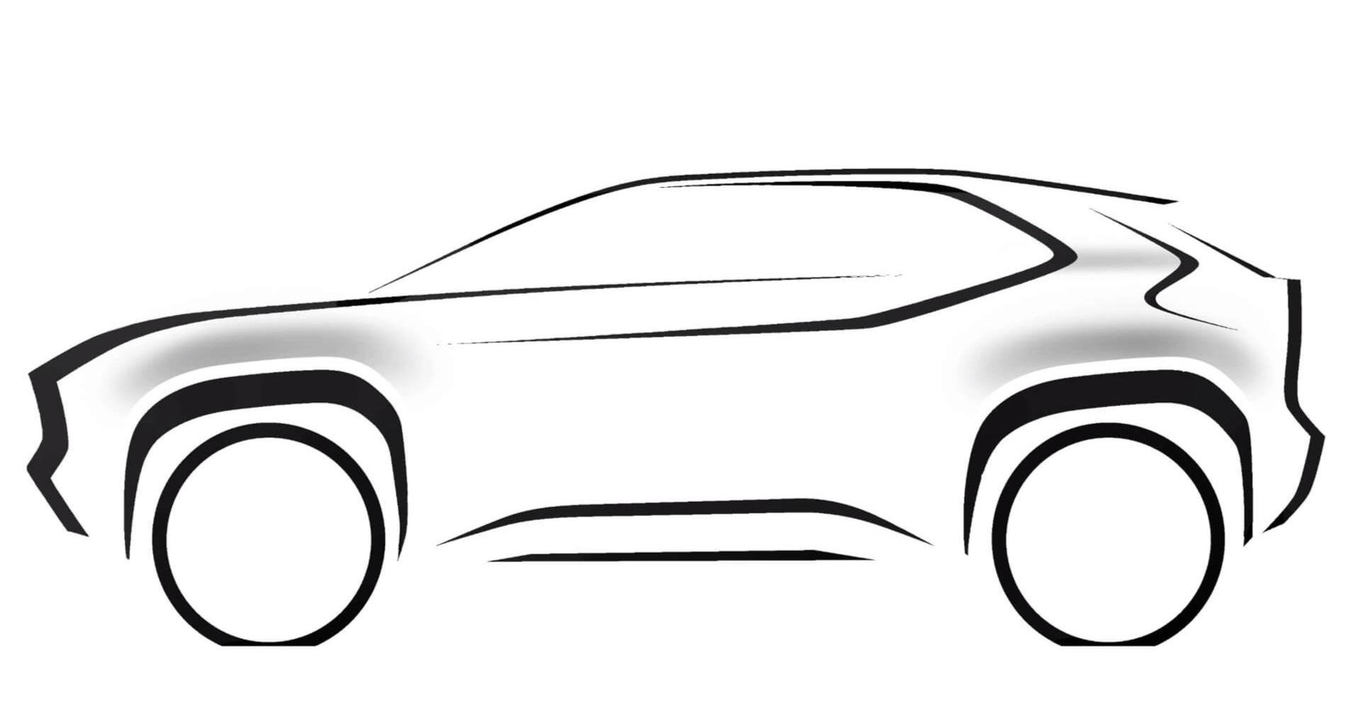 Toyota sẽ ra mắt một mẫu SUV cỡ nhỏ dựa trên Yaris