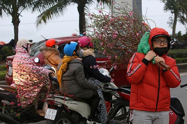 Sôi động chợ hoa Tết lớn nhất Hà Nội - 11