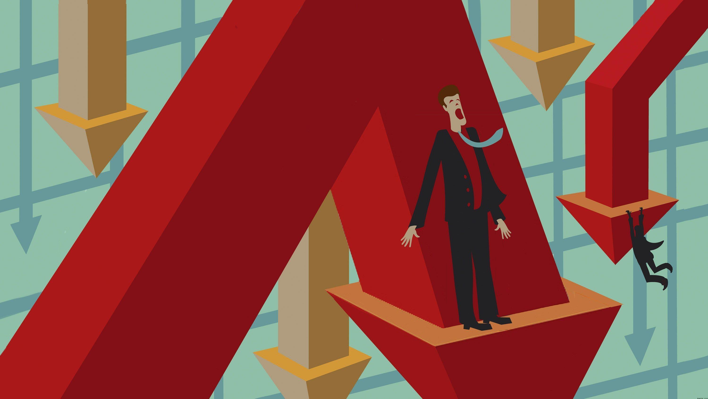 """Hoảng loạn tháo chạy khỏi chứng khoán, hơn 5 tỷ USD """"bốc hơi"""" trong 30 phút"""