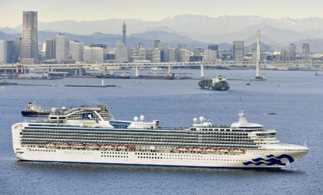 Nhật Bản cách ly tàu du lịch chở 3.700 người vì có hành khách nhiễm virus corona
