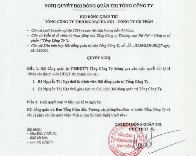 Bà Nguyễn Thị Nga rời ghế Chủ tịch Hapro, doanh nghiệp lắm đất vàng Hà Nội - 2