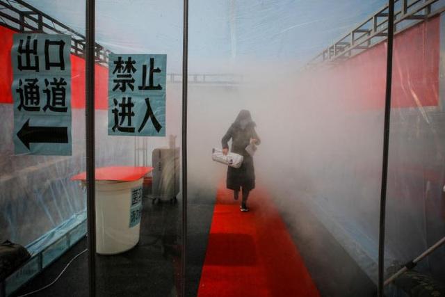 """Một siêu thị Trung Quốc bị nghi là """"ổ dịch"""" virus corona - 1"""