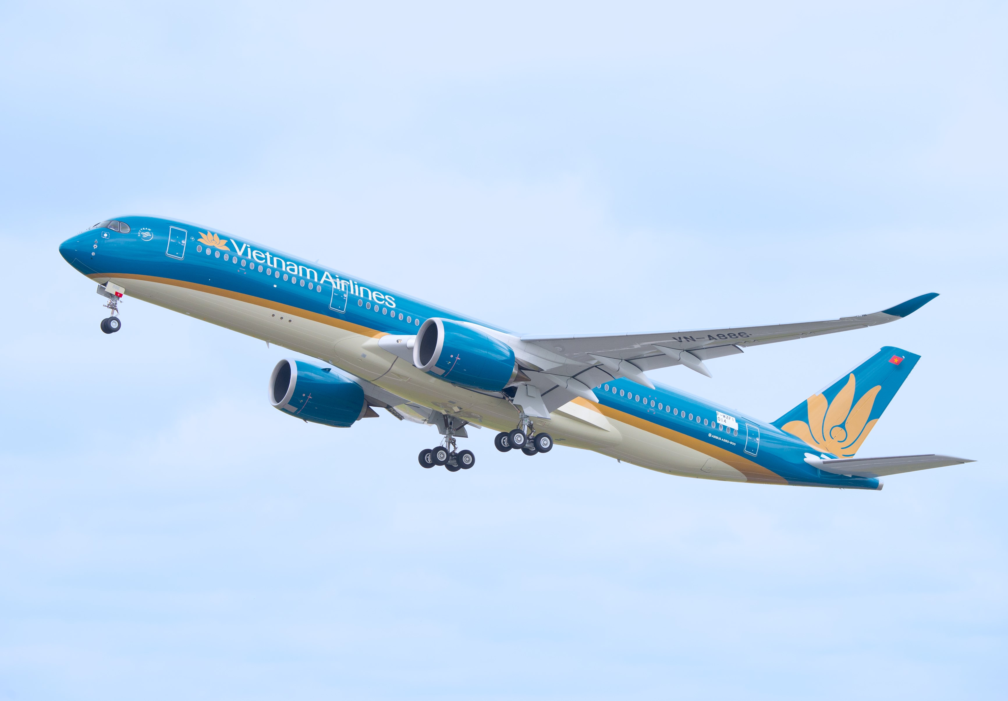 Vietnam Airlines thực hiện 3 chuyến bay đưa hành khách Trung Quốc về nước