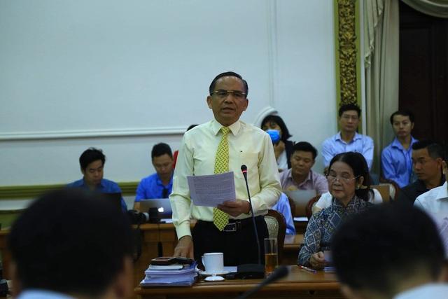 Chủ tịch TPHCM bức xúc vì dự án nhà ở bị ngâm cả năm trời - 1
