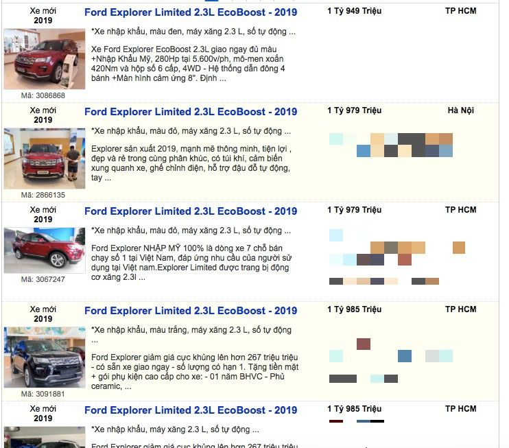"""Giảm sốc 269 triệu, Ford Explorer """"thay đời"""" hay muốn cạnh tranh tất tay?"""