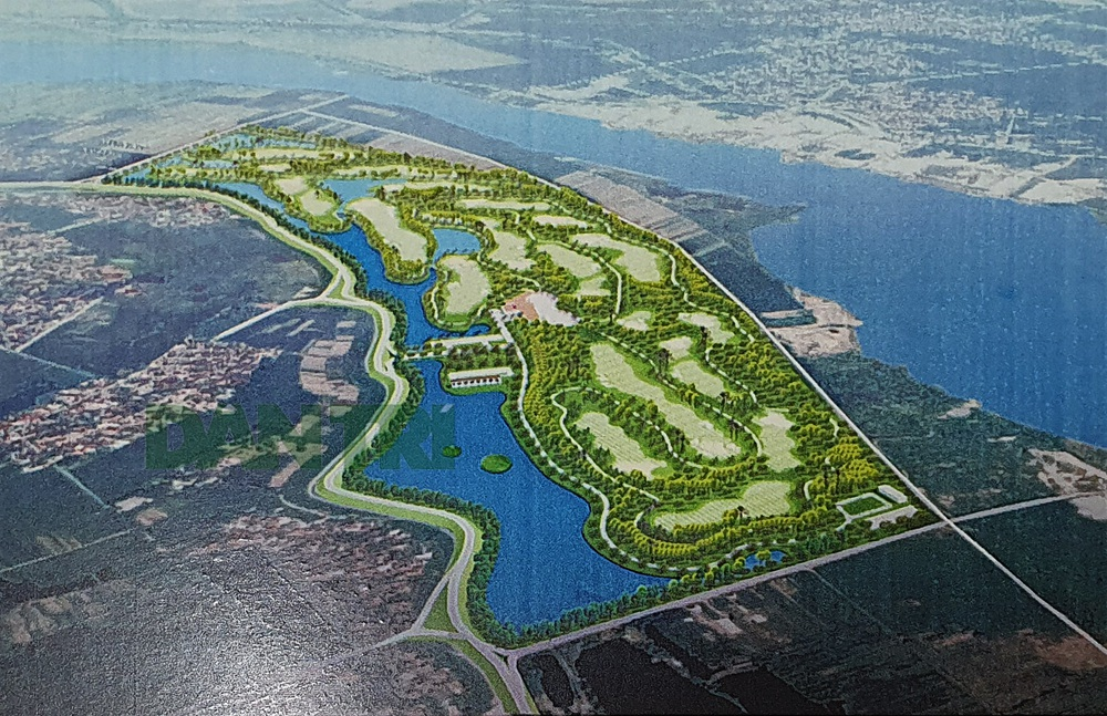 Dự án sân golf cạnh sông Đuống sẽ do Thủ tướng quyết định chủ trương đầu tư