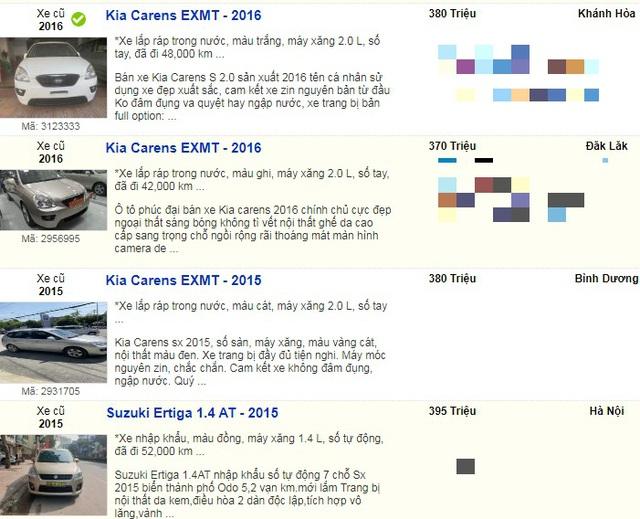 Nhiều mẫu xe cũ đồng loạt hạ giá xuống dưới 400 triệu đồng vì quá ế  - 8