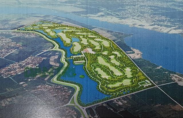 Chủ dự án sân golf cạnh sông Đuống nợ đọng lớn, thua lỗ nhiều năm? - 1