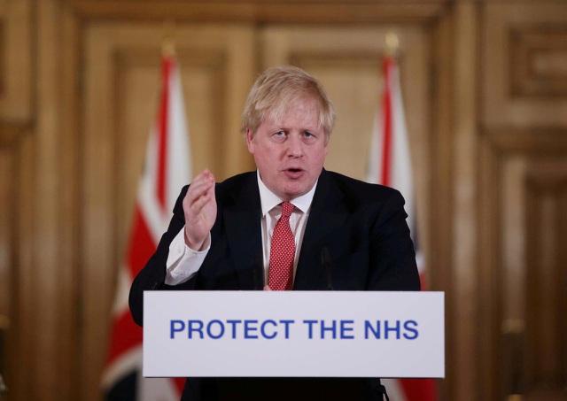 Thủ tướng Anh nhập viện vì Covid-19 - 1