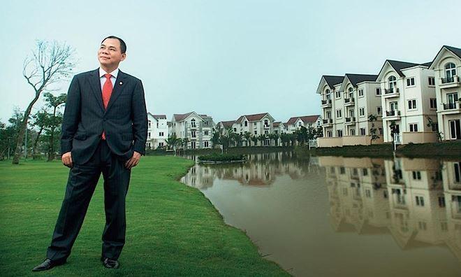 """Tăng lãi gấp 3, công ty bất động sản của ông Phạm Nhật Vượng gây """"choáng"""""""
