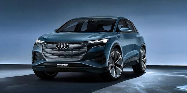 Audi chuẩn bị ra mắt mẫu xe chạy điện giá rẻ Q4 e-tron 2021 - 1