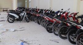 Phát hiện 60 xe mô tô