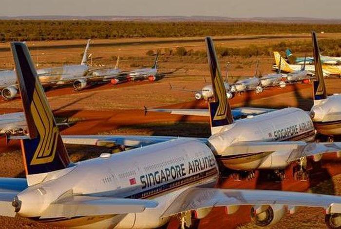 Kinh doanh bãi đỗ máy bay đắt khách trong mùa Covid-19